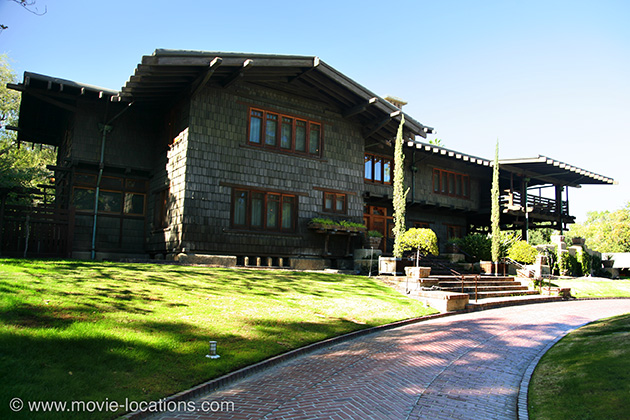 Back to the Future filming location: Gamble House, Westmoreland Place, Pasadena