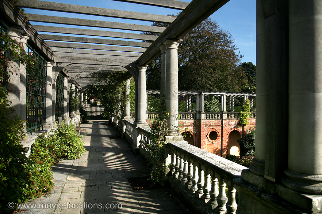 Hampstead Heath Pergola, Inverforth House, Hampstead