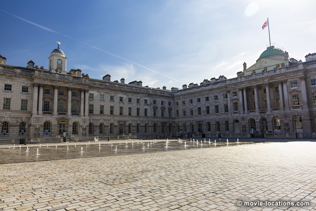 Somerset House, the Strand, London