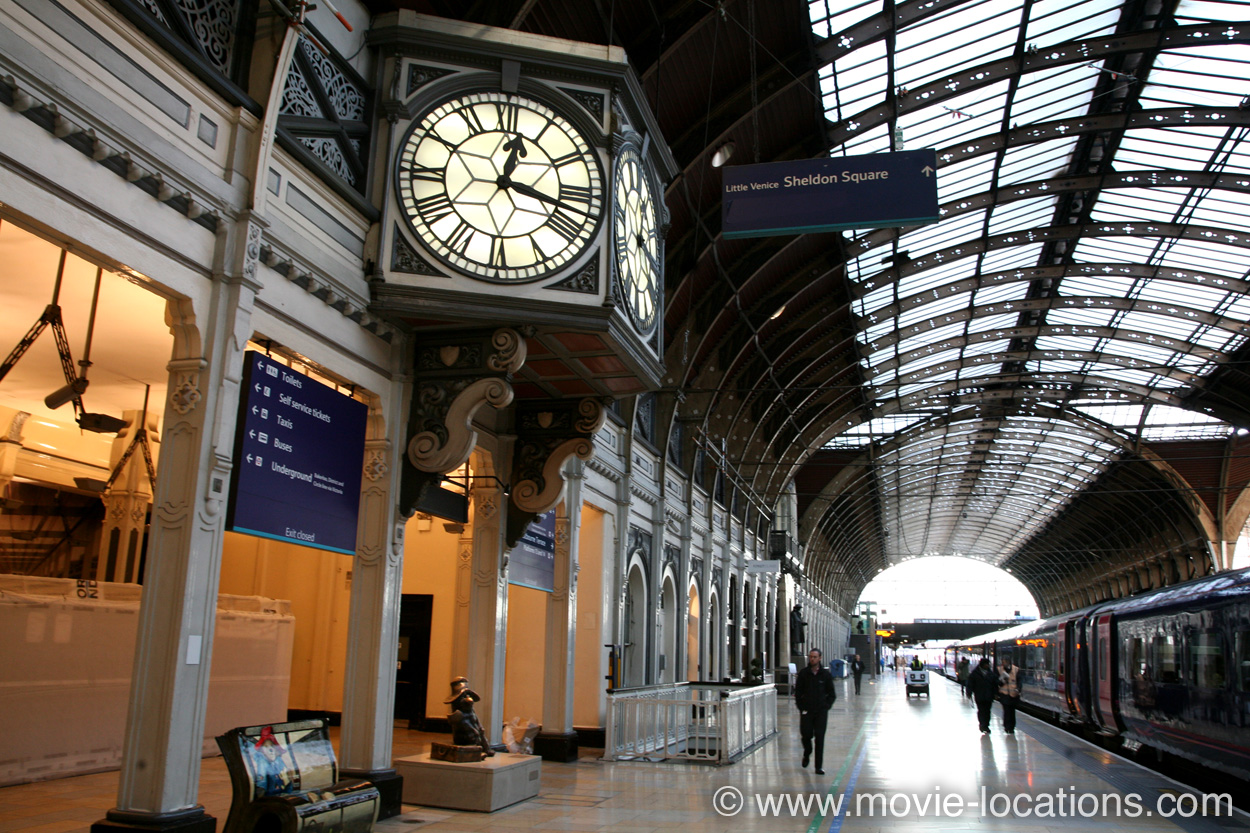 Paddington film location