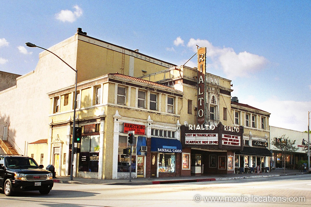 Rialto Theatre, South Fair Oaks Avenue, South Pasadena