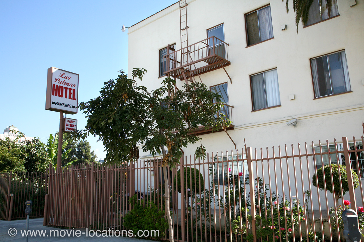 Las Palmas Hotel, Las Palmas Avenue, Hollywood