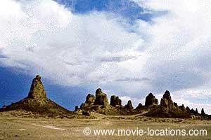 Planet of the Apes location: Trona Pinnacles, near Ridgecrest, California