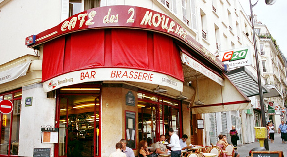 Link to Amélie film locations